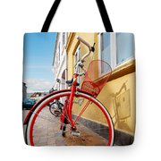 Danish Bike Tote Bag by Robert Lacy