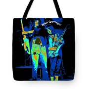 Danny And Rick With Text Tote Bag