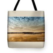 Danube River-sunset Tote Bag