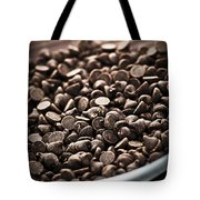 Dark Chocolate Chips Tote Bag