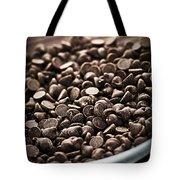 Dark Chocolate Chips Tote Bag by Elena Elisseeva
