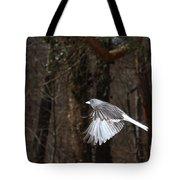 Dark-eyed Junco In Flight Tote Bag