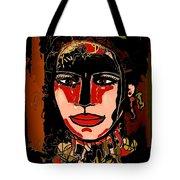 Dark Eyes Tote Bag