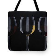Dark Light Medium Tote Bag