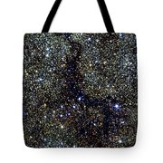 Dark Nebula, G11.11-0.12, Infrared Image Tote Bag