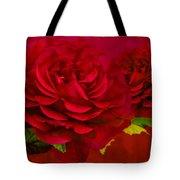 Dark Pink Rose Tote Bag