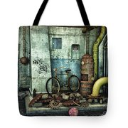 Dark Places Tell Stories Tote Bag