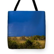 Dark Storm Over The Everglades Tote Bag