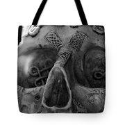 Dark Thoughts Celtic Skull Tote Bag