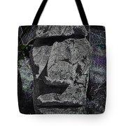 Dark Tiki Tote Bag