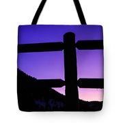 Darkening Sky Tote Bag