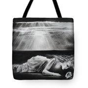 Darkness Falls Upon Me Tote Bag