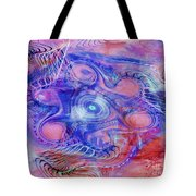 Darkness In The Mind Tote Bag