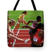 Dash To The Finish Tote Bag