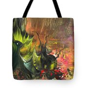 Date In The Wood Tote Bag