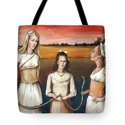 Daughter's Of Eve Tote Bag