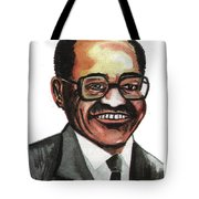 David Blackwell Tote Bag