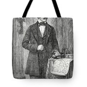 David Livingston, Scottish Missionary Tote Bag by Science Source