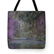 Davis Arboretum Creek Tote Bag by Diego Re