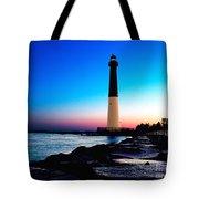 Dawn At Barnegat Light Tote Bag