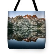 Dawn At Upper Sardine Lake Tote Bag