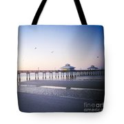 Dawn Breaking Vanilla Pop Tote Bag
