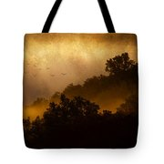 Dawn Flight Tote Bag