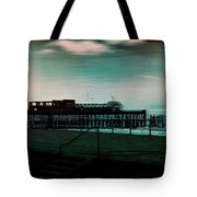 Dawn On The Seafront At Hastings Tote Bag