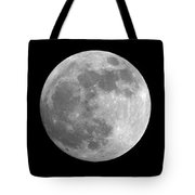 Day Before The Full Moon Tote Bag