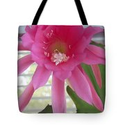 Day Blooming Cactus Tote Bag