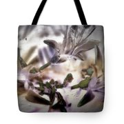 Day Lilies - Abstract Tote Bag