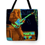 Day On The Green Red House Tote Bag