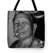 Dayak Woman Tote Bag