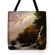 Daybreak Falls Tote Bag