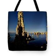 Daybreak On Mono Lake Tote Bag