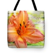 Daylily Greeting Card Mothers Day Tote Bag
