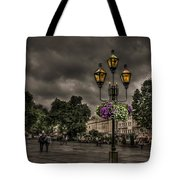 Days Of Thunder Tote Bag