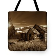 Days Of Yore Tote Bag