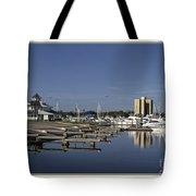 Daytona Boat Launch Tote Bag