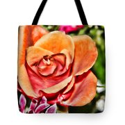 Dazzling Rose Tote Bag