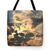 Dazzling Sunset Tote Bag
