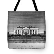 D.c.: White House, 1820 Tote Bag