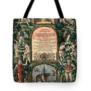 De Bry: Frontispiece Tote Bag