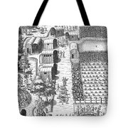 De Bry: Secoton Village Tote Bag
