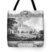 Deaf And Dumb Asylum, 1835 Tote Bag