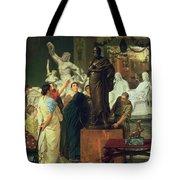 Dealer In Statues  Tote Bag
