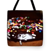 Death By Doughnut Tote Bag