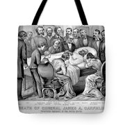 Death Of Garfield, 1881 Tote Bag