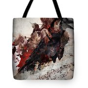 Death Of The  Song Bird Tote Bag