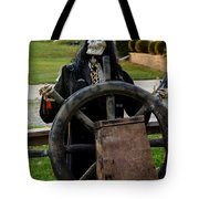 Death Steers The Ship Tote Bag